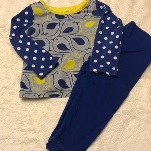 Other - 2 piece blue and yellow bird set